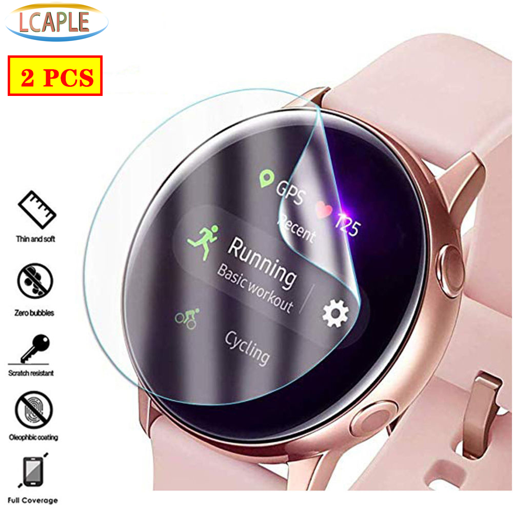 Screen-Protector Watch-Accessories Full-Protective-Film Galaxy Watch Active-2 Samsung