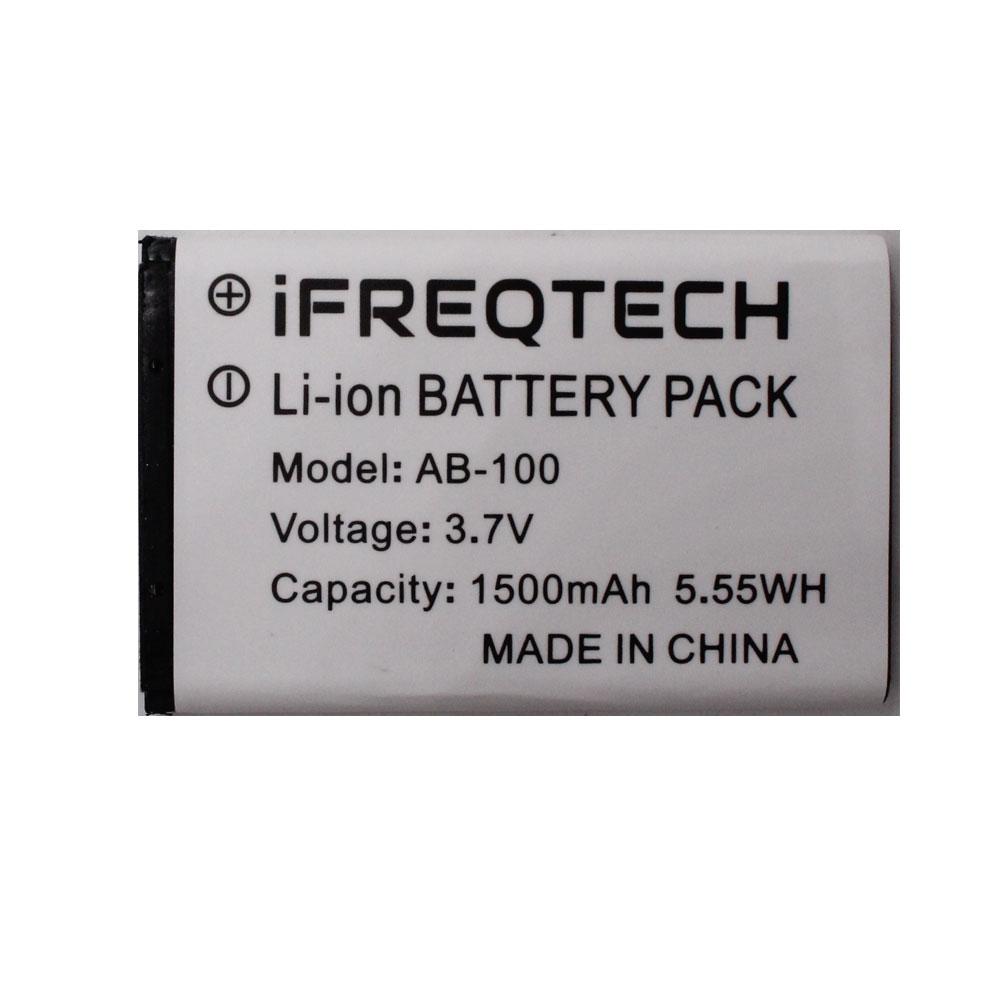 8PCs Original Rechargable Li-ion Battery Pack For WLN KD-C1 Airfree AP-100 Two Way Radio 1500mah C-BAP100