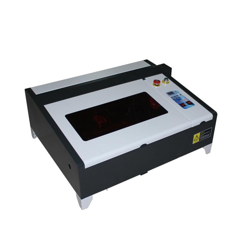 CE Zertifiziert Desktop LY laser 4040 50W USB CO2 Laser Stecher Mini DIY Schneiden Maschine mit Digital Funktion