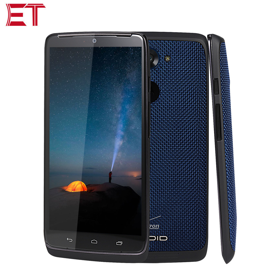 Original Motorola DROID Turbo XT1254 3G Mobile Phone 3GB RAM 32GB ROM Snapdragon805 5.2