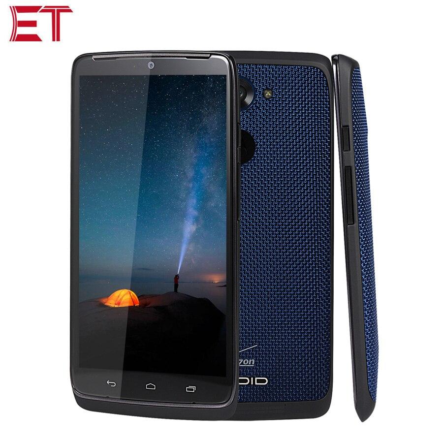 Original Motorola DROID Turbo XT1254 3G Mobile Phone 3GB RAM 32GB ROM Snapdragon805 5.2