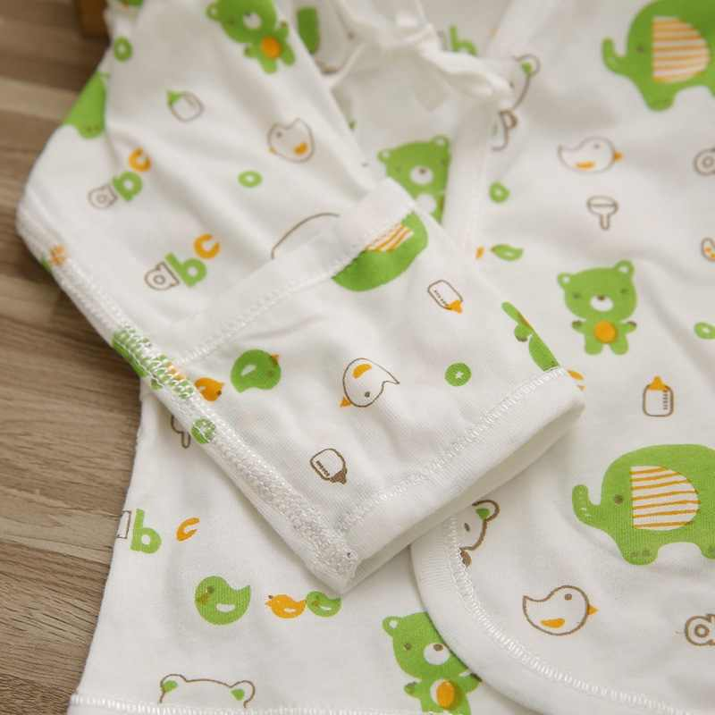 Ropa de bebé recién nacido de 0 a 1 año de edad pijamas hombres y mujeres bebé puro algodón cuerpo abrazar vestido pantalones de entrepierna abierta conjunto