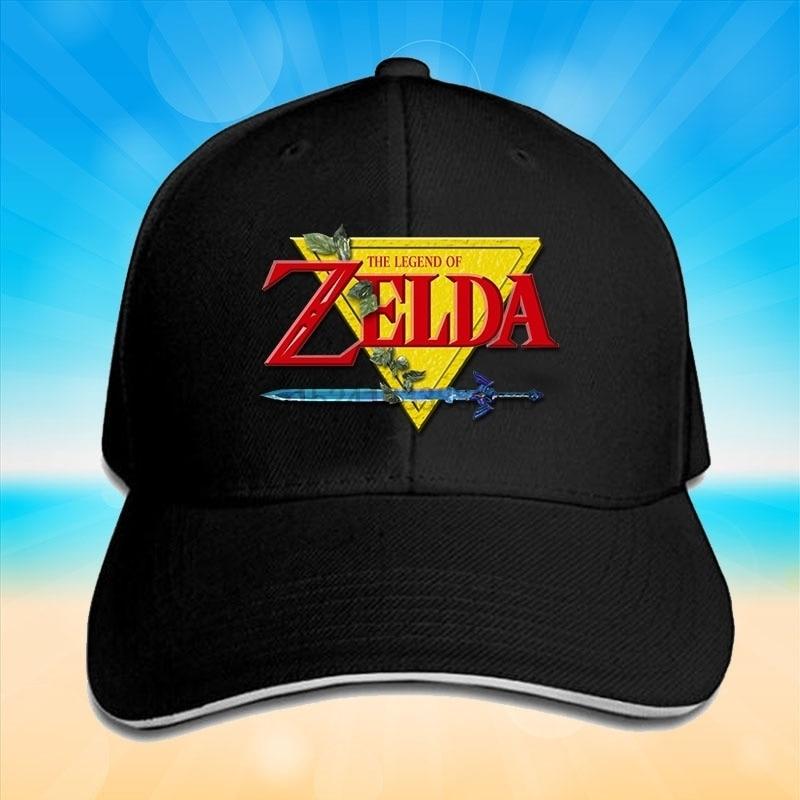The Legend of Zelda Print Cap Unisex Men Women Cotton Cap Baseball Cap Sports Cap Outdoors Cap Snapback Hat Fashion Cap Hip Hop