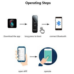 Image 5 - G6 3 In 1 Stimme/Text/Fotografische Bluetooth Sprache Übersetzer Instant Offline upport 70 + Sprachen Business Text übersetzer