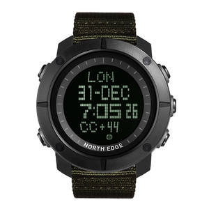 Image 2 - NORTH EDGE Mens sports Digital watch Hours for Running Swimming military army watches water resistant 50m stopwatch timer