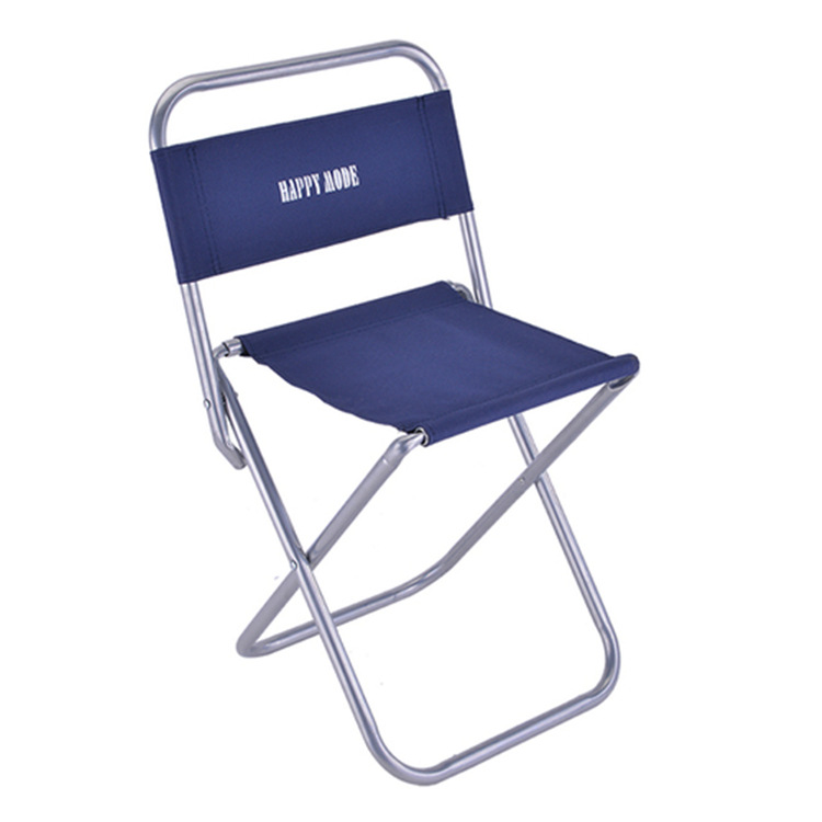 Outdoor Casual Beach Folding Chair Household Children's Chair Adult Camping Park Chair Simple Metal Thick Office