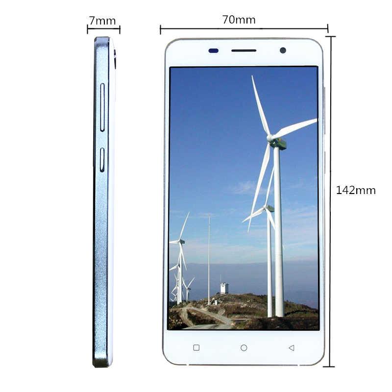 """Liquidation vente 5.0 """"écran Android 6.0 celulaire 3G 4G LTE smartphone pas cher téléphone mobile 2GB 16GB double Sim GSM téléphones Google Play"""
