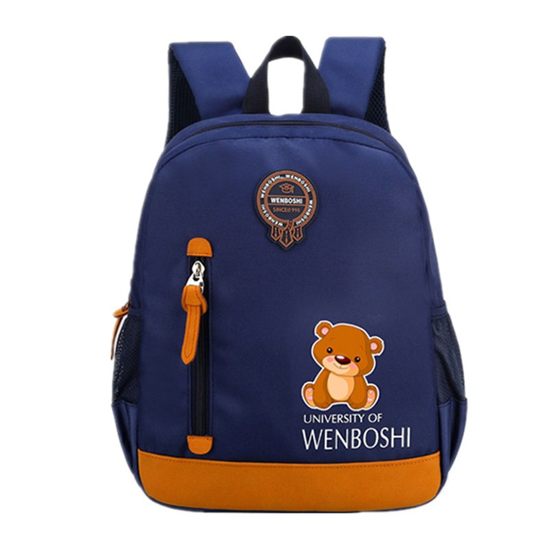 Creative Cartoon Bear plane Toddler backpack Anti-lost kindergarten backpacks school bag for Baby boys girls Nursery Backpack