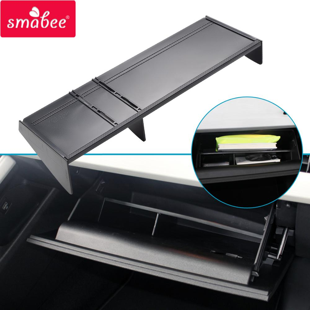 Smabee Car Glove Box Interval for <font><b>Geely</b></font> Atlas <font><b>Emgrand</b></font> <font><b>X7</b></font> Sport 2016 2017 2018 <font><b>2019</b></font> Proton <font><b>X7</b></font> Accessories Co-pilot Storage Box image