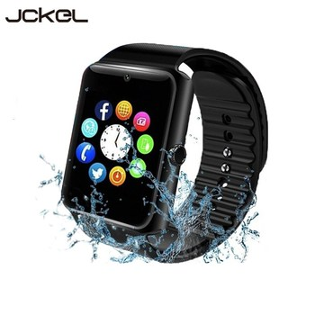 цена на Smart Watch GT08 Plus Men BluetoothAndroid IOS Fitness Watches with 2G GSM SIM TF Card Camera for iPhone Samsung HUAWEI PK S8