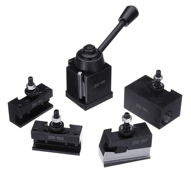 DMC 250 000 Cuniform GIB Type Quick Change Tools Kit Tool Post 250 001 010 Tool Holder for Lathe Tools  7 Types
