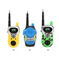 2 шт./лот пульт дистанционного беспроводного вызова электрическая рация электрические пластиковые игрушки двухстороннее радио большой дал...