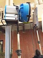 120V High speed 1000Hz PRO as M90 HMI Light + 6/9K Electronic Ballast +Flycase for Film Studio Light