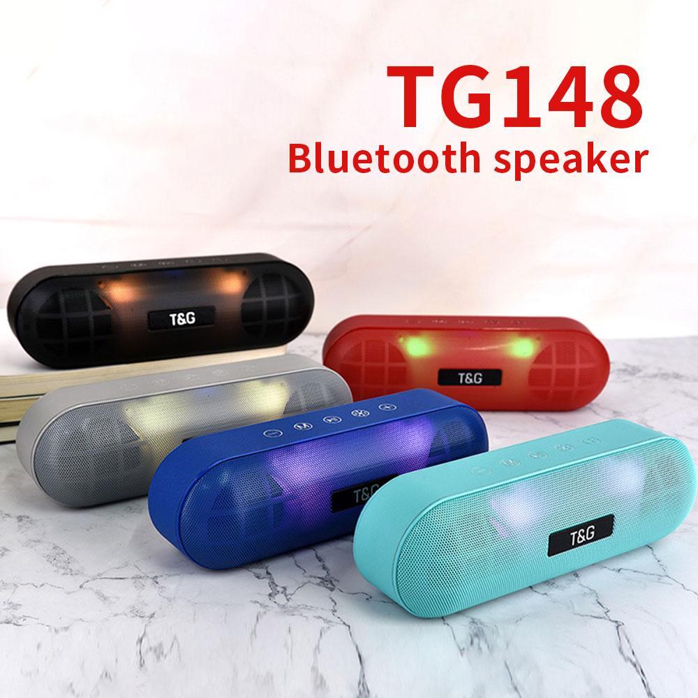 Bluetooth Колонка портативная с поддержкой tf карты и сабвуфером