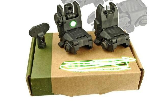 Magorui MBUS Gen 3 yedek manzaraları ön ve arka seti w/ön Sight aracı Mark