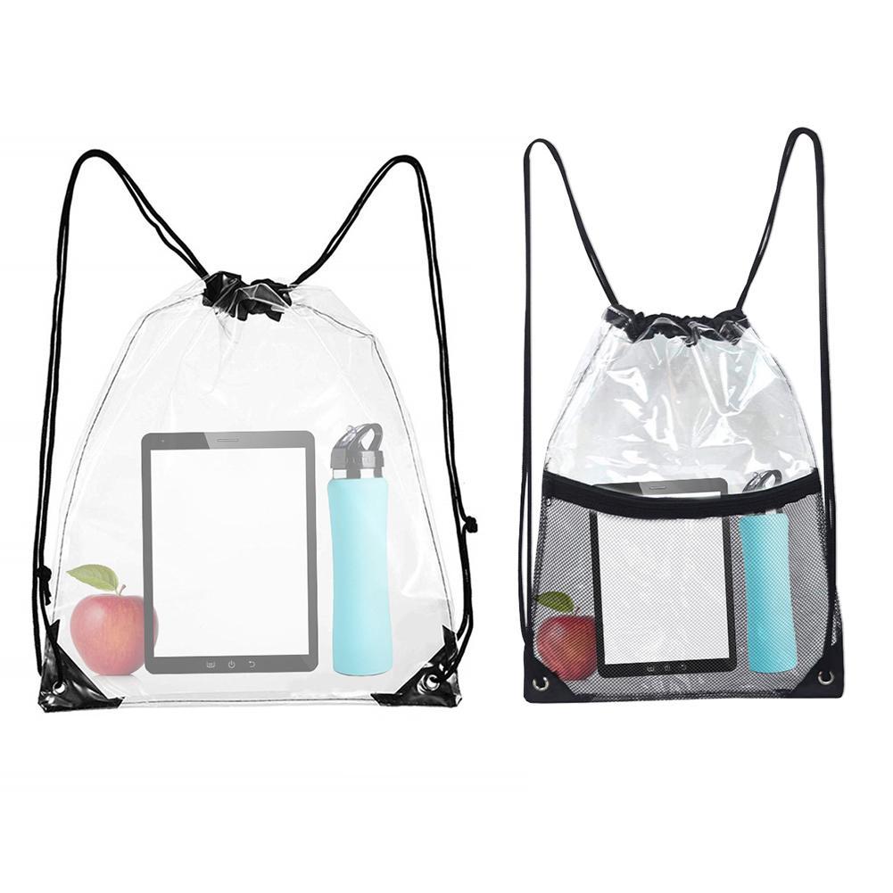 Transpa Storage Bag Drawstring