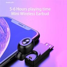 Get more info on the Bluetooth  5.0 Single Earphones Wireless Headset USB Waterproof Mini In-ear HIFI Earbuds Ecouteurs Bluetooth