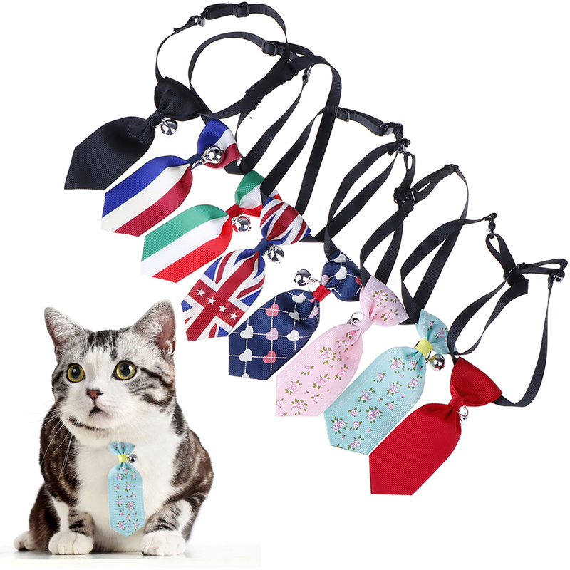 8 Colors Pet Tie Bow Adjustable Pet Neckties For Small Medium Large Dogs Cat Dog Bow Tie Collar Dog Accessories