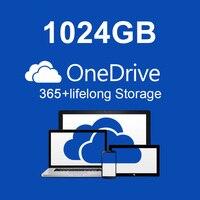 OneDrive-cuenta de almacenamiento en la nube de 1TB, actualización de suscripción de por vida para 1 persona + actualización de cuenta de 365 Pro Plus
