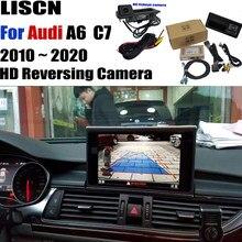 Achteruitrijcamera Voor Audi A6 C7 Rmc Mmi 2009 ~ 2020 Backup Camera Interface Adapter Originele Upgraden Screen Decoder Revers camera