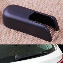 Black Plastic Rear Windshield Wiper Arm Nut Cover Cap Fit for BMW X3 E83 2004 2005 2006 2007 2008 2009 2010