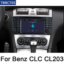 For Mercedes Benz CLC Class CL203 2008-2010 NTG Android Car Multimedia player WIFI GPS Navigation Autoradio touch screen Map цена в Москве и Питере