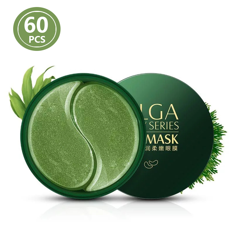Hydrogel Eye Patches Anti Aging Collagen 60PCS Gold Green Anti Wrinkles Eyes Mask Dark Circles For Ageless Korean Gel Patch P