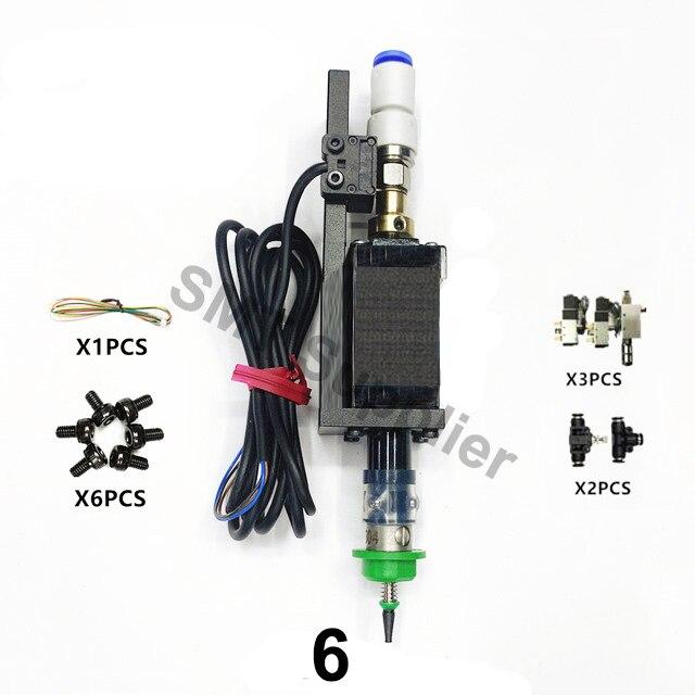 Le plus nouveau SMT tête Nema8 arbre creux pas à pas pour choisir la tête SMT bricolage monteur 5mm connecteur spécial buse Joint rotatif SMT