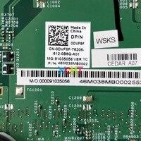 5005u מחברת מחשב נייד CN-0DVF8F 0DVF8F DVF8F w I3-5005U CPU 13,269-1 DDR3L עבור Dell Inspiron 3443 3543 מחברת מחשב נייד PC Mainboard Motherboard (3)