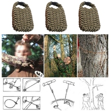 Multifunctional Outdoor Survival Bag Seven-core Paracord First Aid Set Camping EDC Gear Emergency Kit 2 Colors