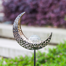 Lampe solaire en métal, luminaire dextérieur, effet flamme, décoration de paysage LED, idéal pour une pelouse, une cour ou une cour