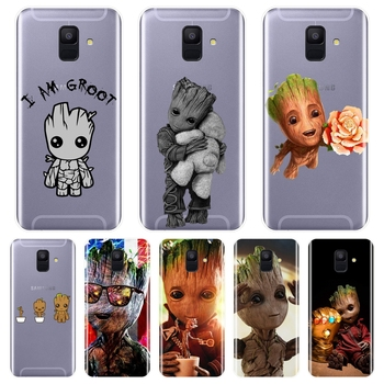 Back Cover For Samsung Galaxy A6 A8 Plus 2018 A6 A7 A8 2018 A3 A5 2016 2017 Silicone Soft Guardians of the For Galaxy Phone Case image