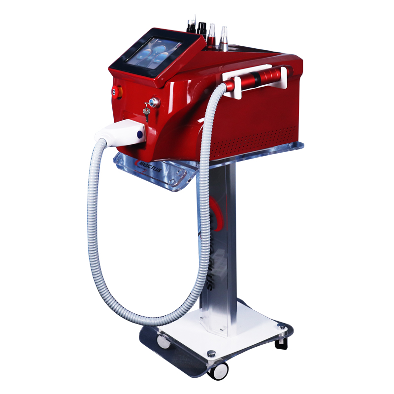 Newest High Quality Nd Yag Laser755 1320 1064 532nm Picosecond Laser Tattoo Removal Machine Face Skin Care Tools