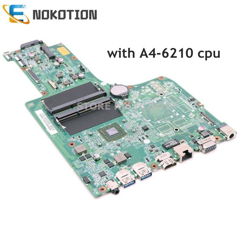 NOKOTION DA0ZYVMB6D0 NBMND11003 NB.MND11.003 laptop motherboard For acer aspire E5-721 Quanta A4-6210 DDR3 Mainboard Works