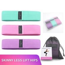 Yoga Elastic Fitness Bands Set 76*8cm Stretch Strap For Gymnastics Accessories Multifunction Gym Equipment