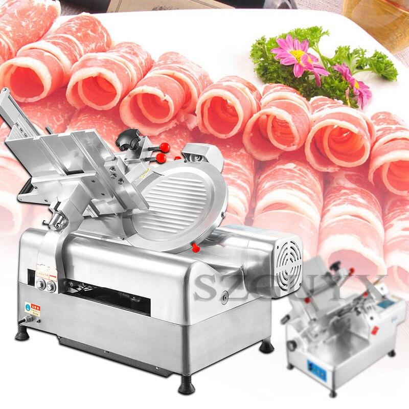 550 Вт автоматический mutton рулон ломтерезка для кухонного оборудования овощерезка многофункциональная электрическая овощи ломтерезка для