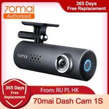 70mai traço cam 1s câmera dvr carro wifi 1080p hd visão noturna g-sensor 70 mai 1s dashcam gravador de vídeo inglês controle de voz
