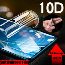 10D Silikon Lembut Hydrogel Stiker Film untuk LG G5 G6 G7 G8 Thinq Q7 Q6 Plus V20 V30 V40 V50 k12 TPU Screen Protector(China)