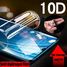 10D silikonowe miękkie hydrożelowe Film naklejany dla LG G5 G6 G7 G8 ThinQ Q7 Q6 Plus V20 V30 V40 V50 K12 TPU osłona ekranu przedniego tanie tanio Alivo CN (pochodzenie) Clear Front and Back 9D Full Screen Protector Soft TPU Film (Not Glass) For LG G5 G6 G7 ThinQ Front Back 9D Full Protective Screen Protector For LG