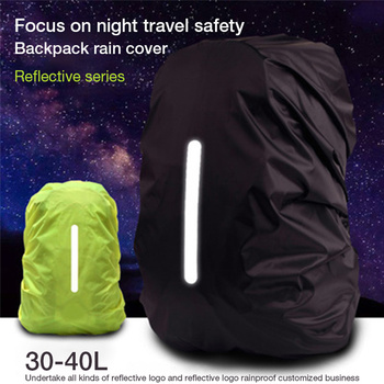 Outdoor reflective waterproof backpack rain cover 8-70L sport camping case bag dustproof cover