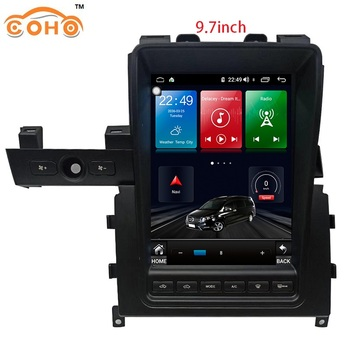 GTR Android 9.0 Octa Core 4+64G 9.7inch Telsa Gps Navigation Multimedia Car Stereo Radio For Nissan Gt-r
