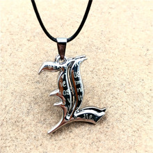 12pcs/lot Japan Anime Death Note Necklace Letter Double L Pendant Necklace Fashion Accessories Cosplay For Women Men Jewelry