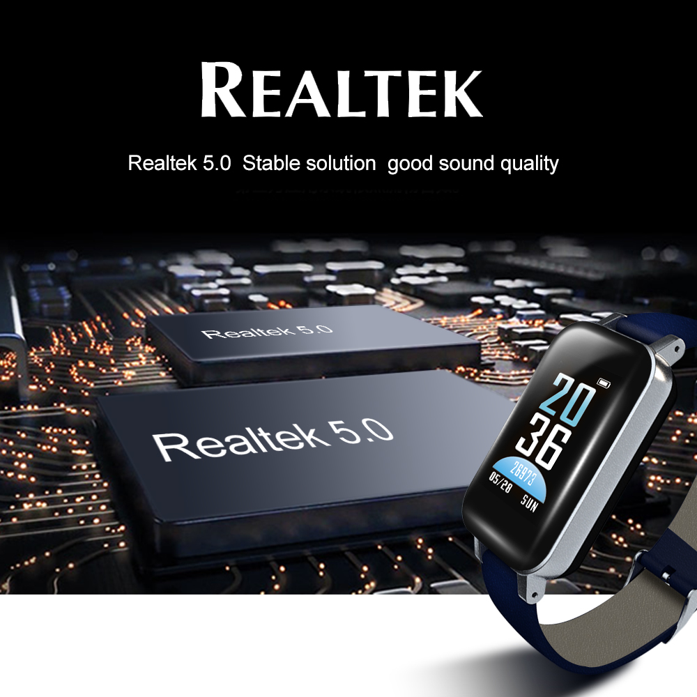 2-In-1 Wireless Bluethooth Headset & Smart Bracelet 1