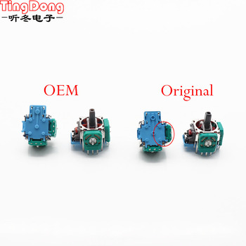 10PCS Original Or Oem 3D Analog Sensor 3D Analog Axis 3D Joystick Potentiometer For PS4 Controller недорого