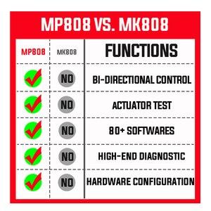 Image 5 - Autel MaxiPro MP808 Diagnostic Tool PK DS808 DS708 Maxisys MS906 Automotive Scanner Reset Service Key Coding OBD OBD2 Scanner