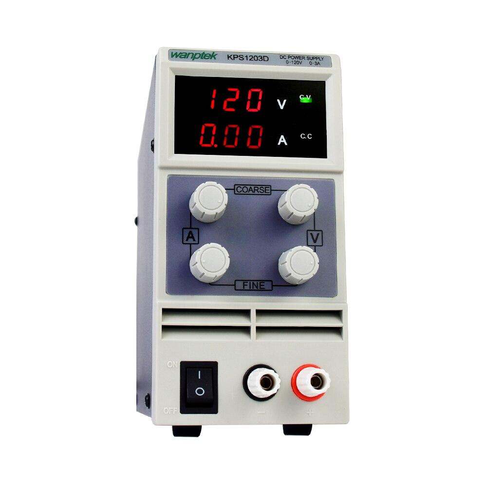 adjustable dc power supply KPS1203D 1202D 1201D dual digital display laboratory power supply regulator 120V 3A 2A 1A 0.1V 0.01A-1