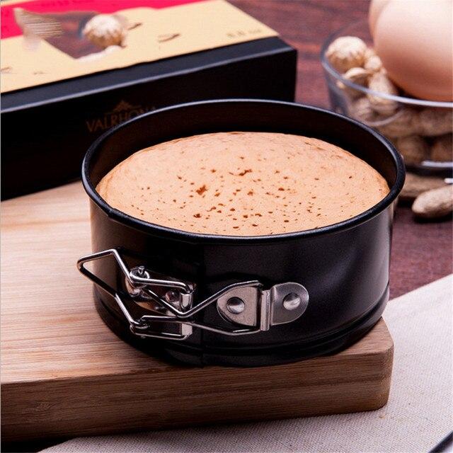 Moules de gâteaux en acier au carbone noir moule de cuisson en métal antiadhésif