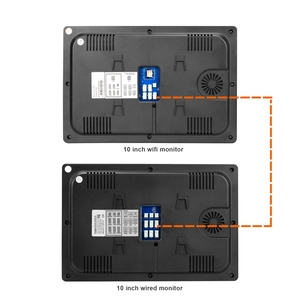 Image 5 - Homefong Wired Video Intercom Monitor 10 inch Touch Screen Support AHD Doorbell Outdoor Camera Connected Motion Detection Record