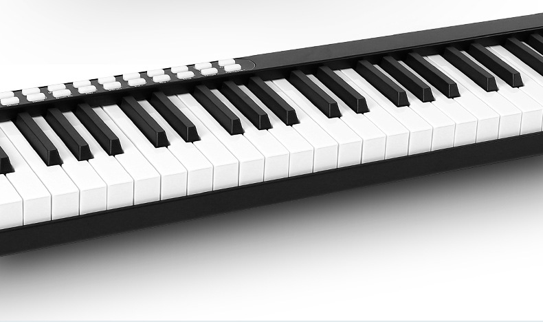 eletrônico, piano, teclado touch, sensível, midi usb,