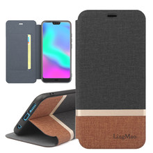 fip case for Huaway Honor V10 Phone Bag Case Honor V10 PU Leather + TPU Cover Case Huawei Honor V10 Coque Full Protective Cover(China)